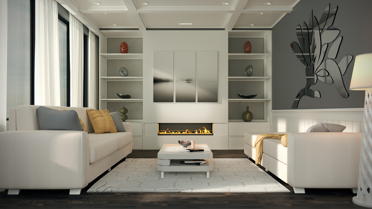 Interior rendering strategies with arnold and maya for 3d max interior design course