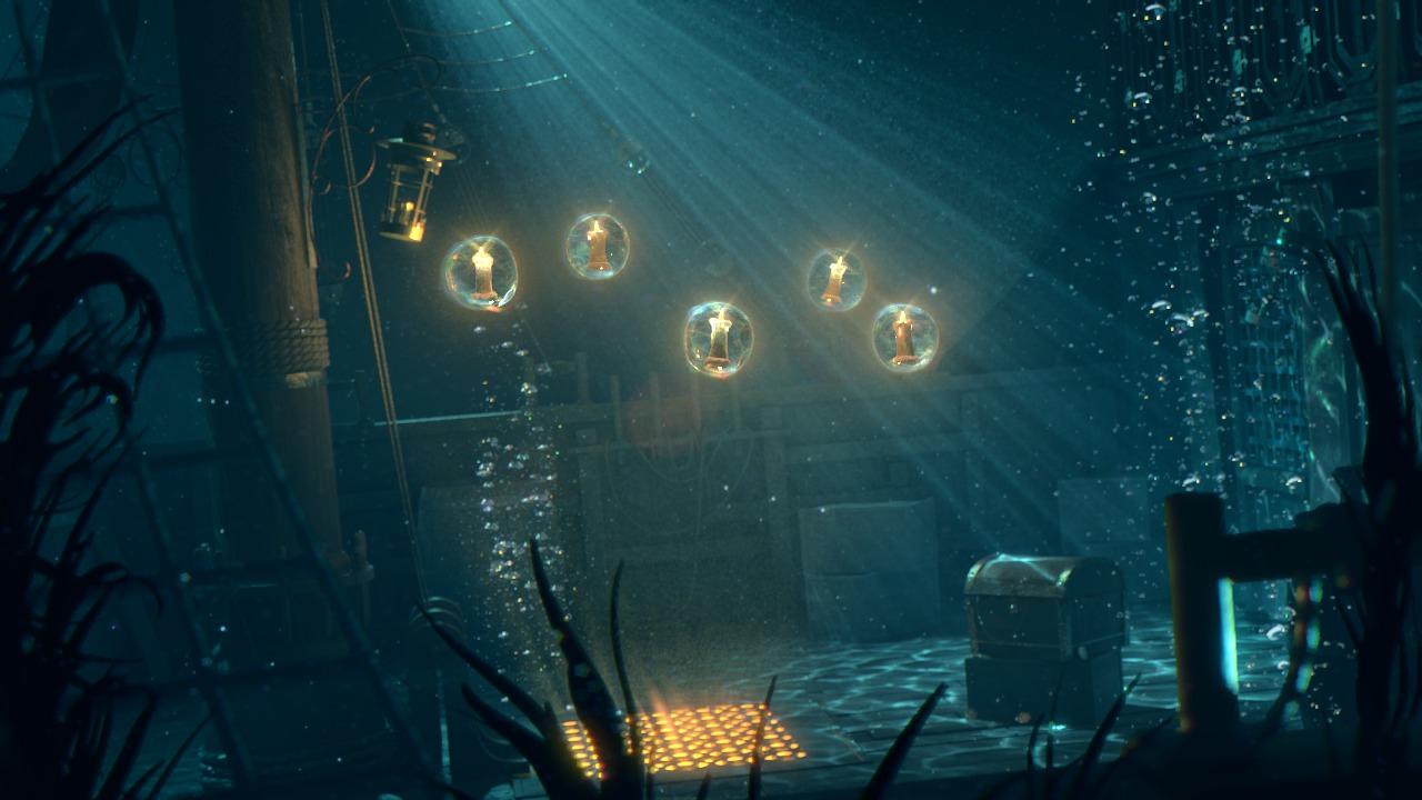 Creating Cinematic Underwater Lighting