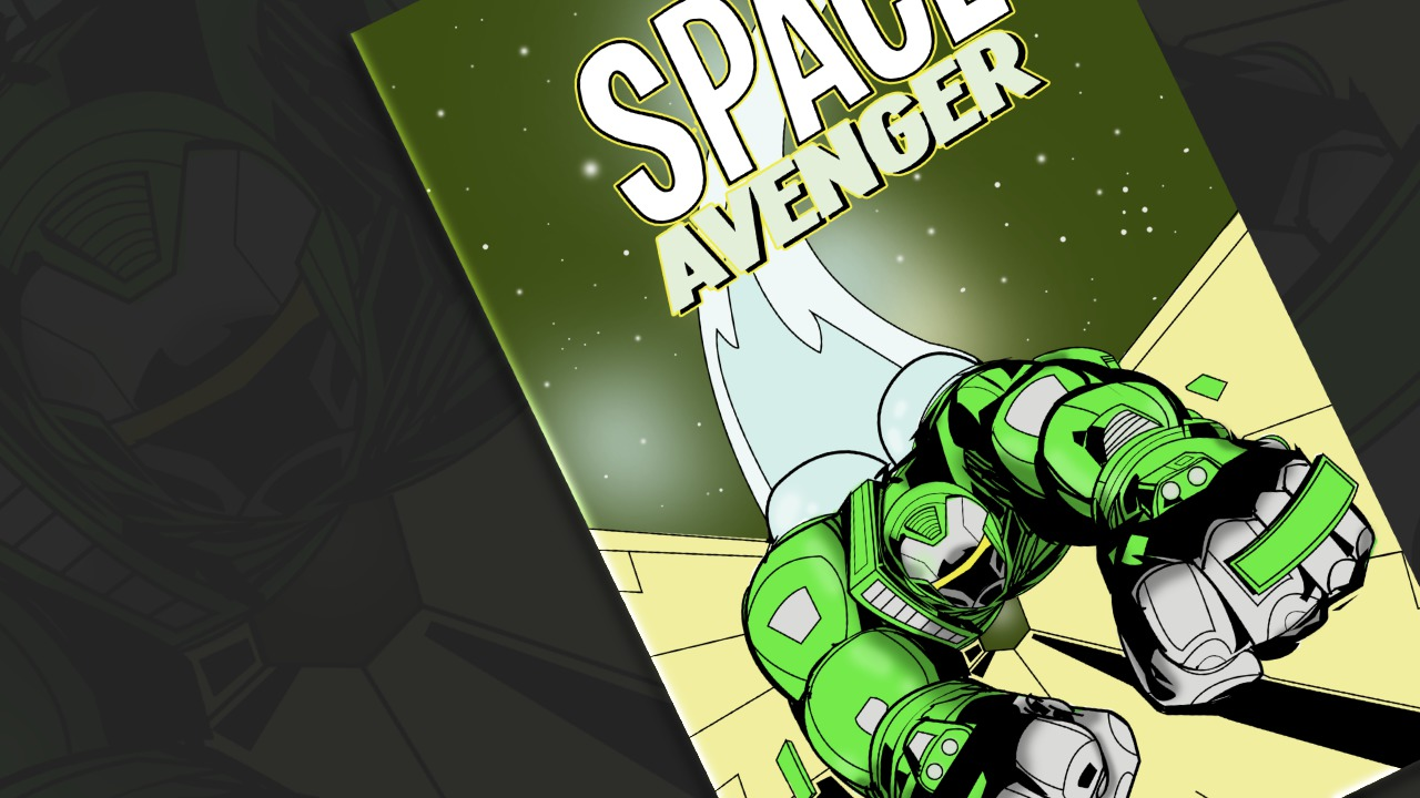 Comic Book Cover Tutorial : Creating a comic book cover in illustrator and photoshop