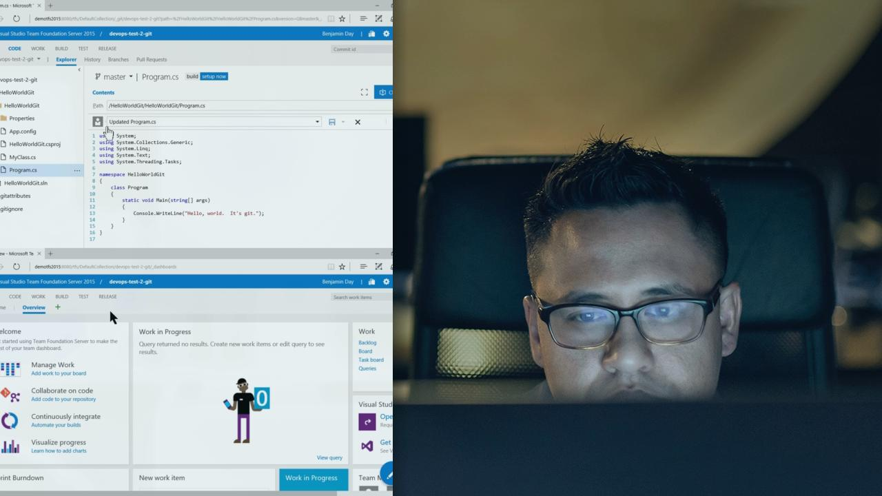 Devops skills for developers with visual studio tfs 2015 devops skills for developers with visual studio tfs 2015 pluralsight xflitez Images