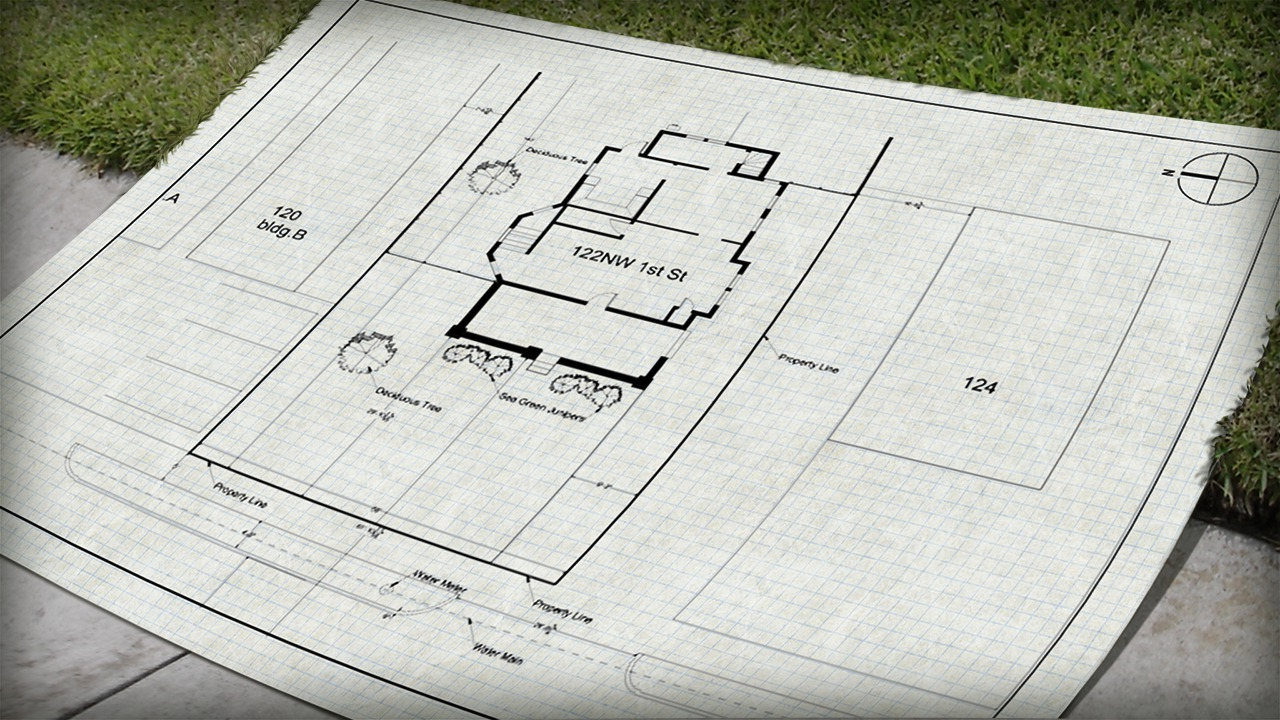 Drawing a site plan in autocad pluralsight for Site plan drawing online