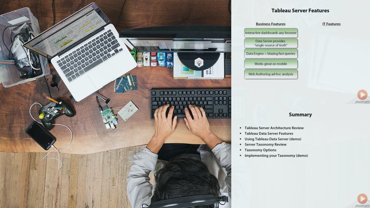 Enterprise Business Intelligence With Tableau Server