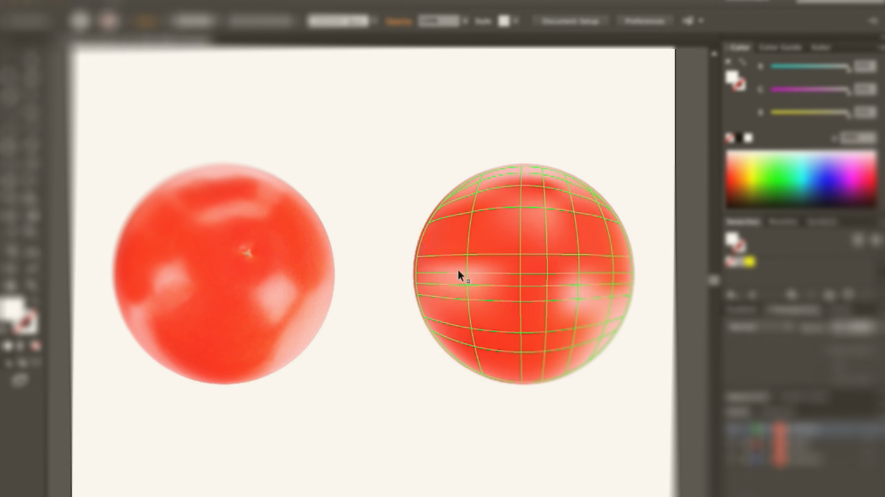Illustrator Cc Blends And Gradient Mesh Pluralsight