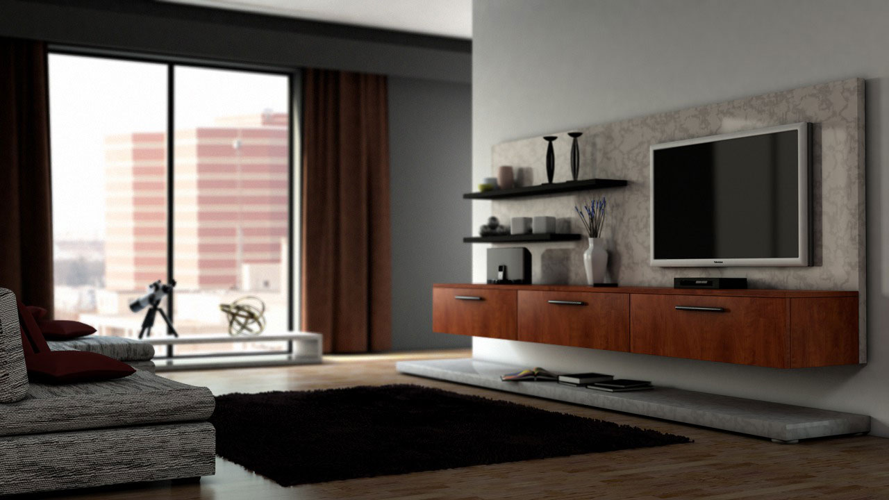 Interior rendering techniques with mental ray and 3ds max for Interior modeling in 3ds max