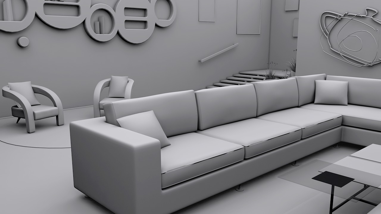 Modeling interiors in 3ds max pluralsight for How to make 3d interior design