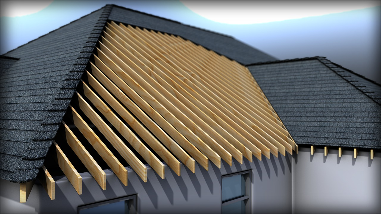 Modeling Roof Formations Structures And Materials In
