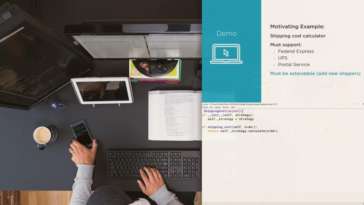Python Course Python Design Patterns Pluralsight