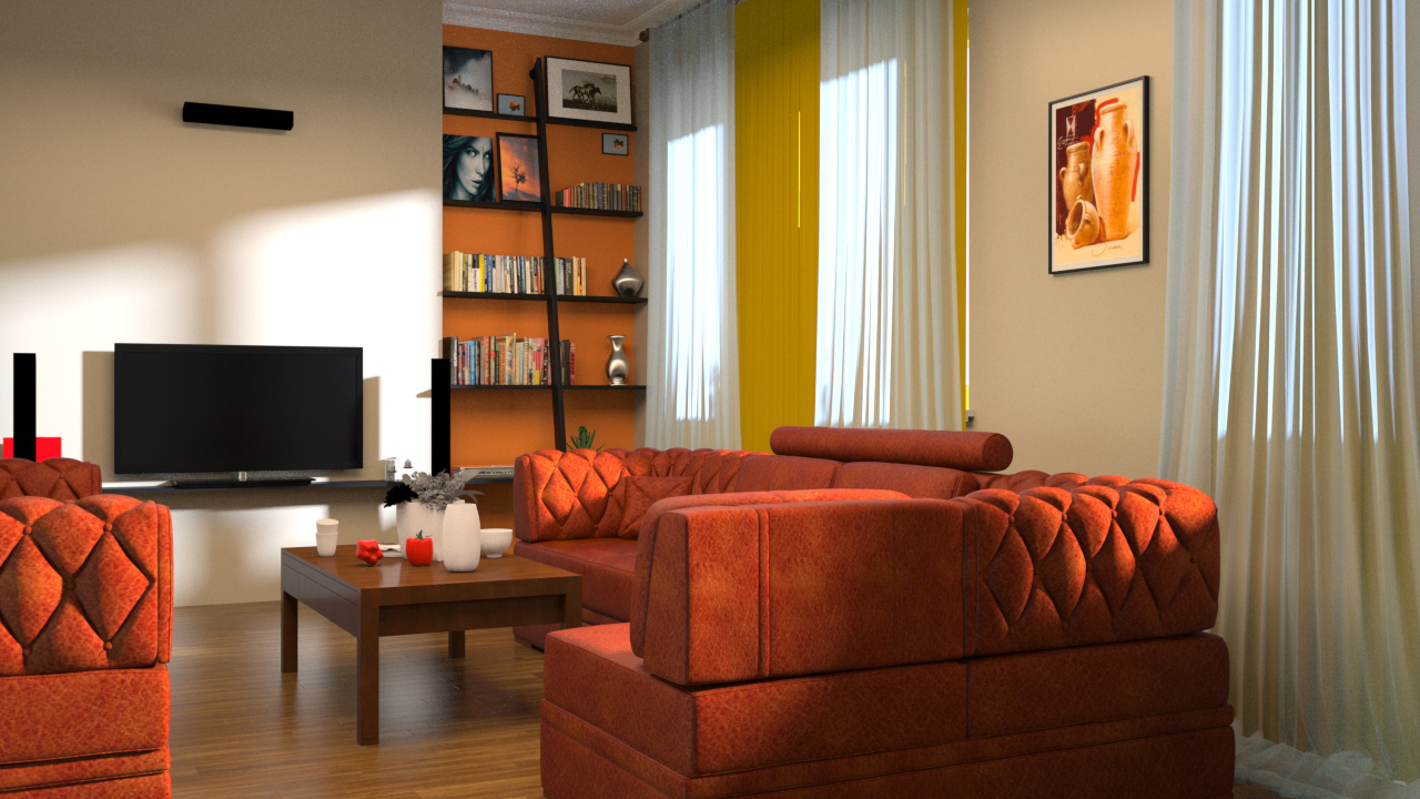 rendering interiors in 3ds max and maxwell render pluralsight. Black Bedroom Furniture Sets. Home Design Ideas