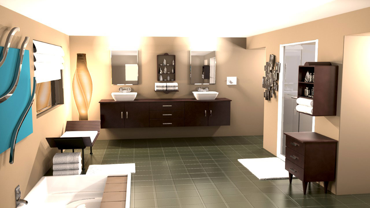 rendering interiors in cinema 4d pluralsight. Black Bedroom Furniture Sets. Home Design Ideas