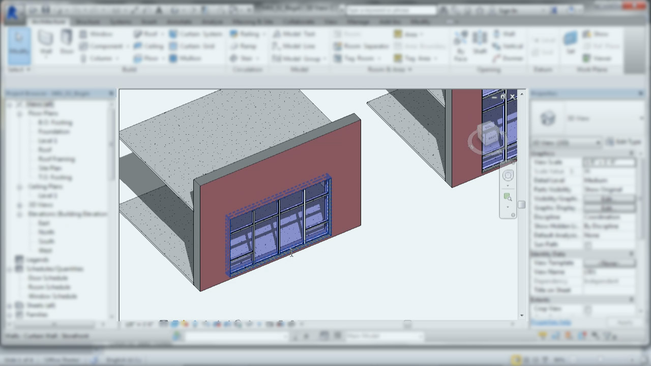 Storefront, Curtain Walls, and Curtain Systems in Revit