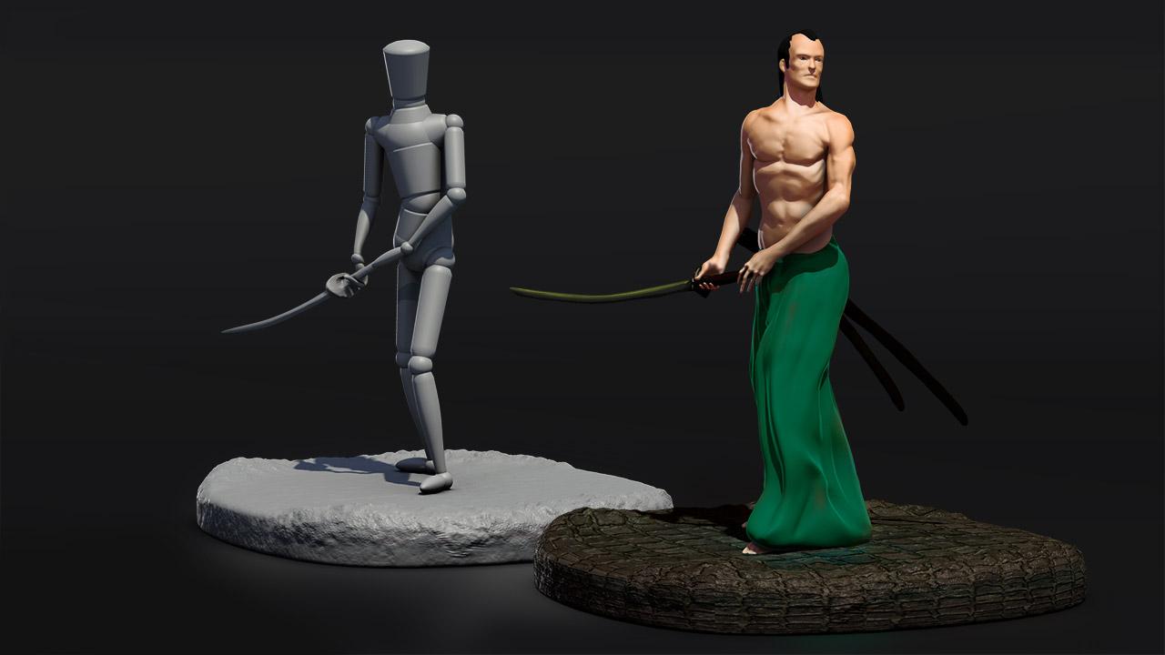 Sculpting Anatomy Using ZBrush Mannequins | Pluralsight
