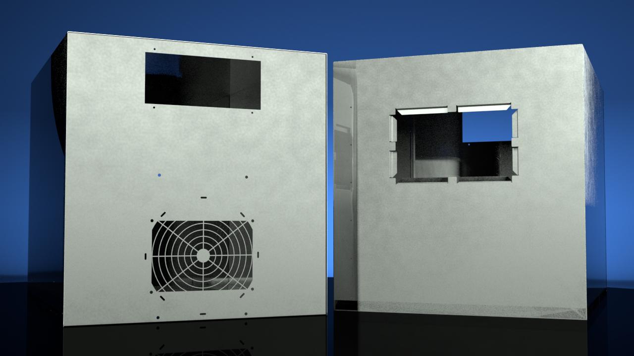 Solidworks Sheet Metal Sketch Driven Enclosure Assembly Design Pluralsight