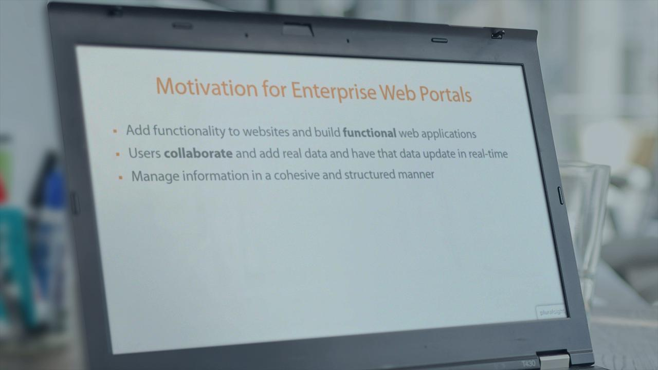 ibm websphere portal and wcm 8.5 fundamentals | pluralsight, Presentation templates