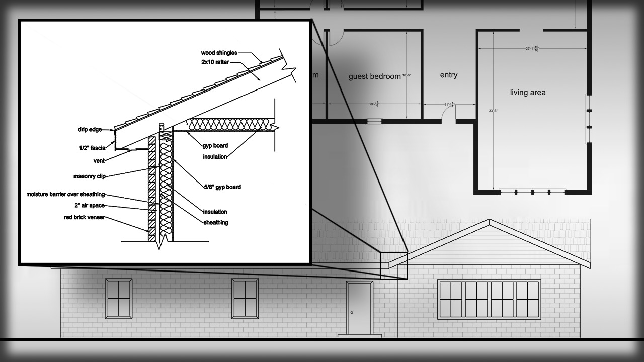 Creating working drawings for your construction documents for Autocad drawings of houses